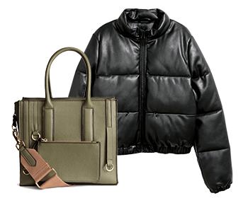 за якета и чанти